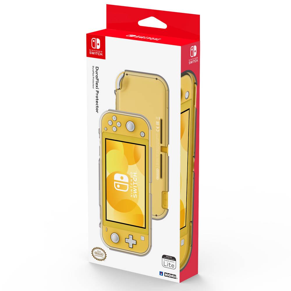 Nintendo Switch Lite Hori Duraflexi protector case - transparant