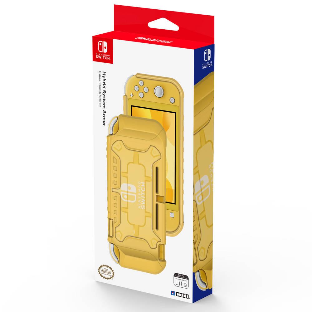 Nintendo Switch Lite Hori Hybrid System Armor - geel