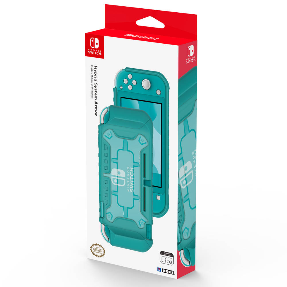 Nintendo Switch Lite Hori Hybrid System Armor - turquoise