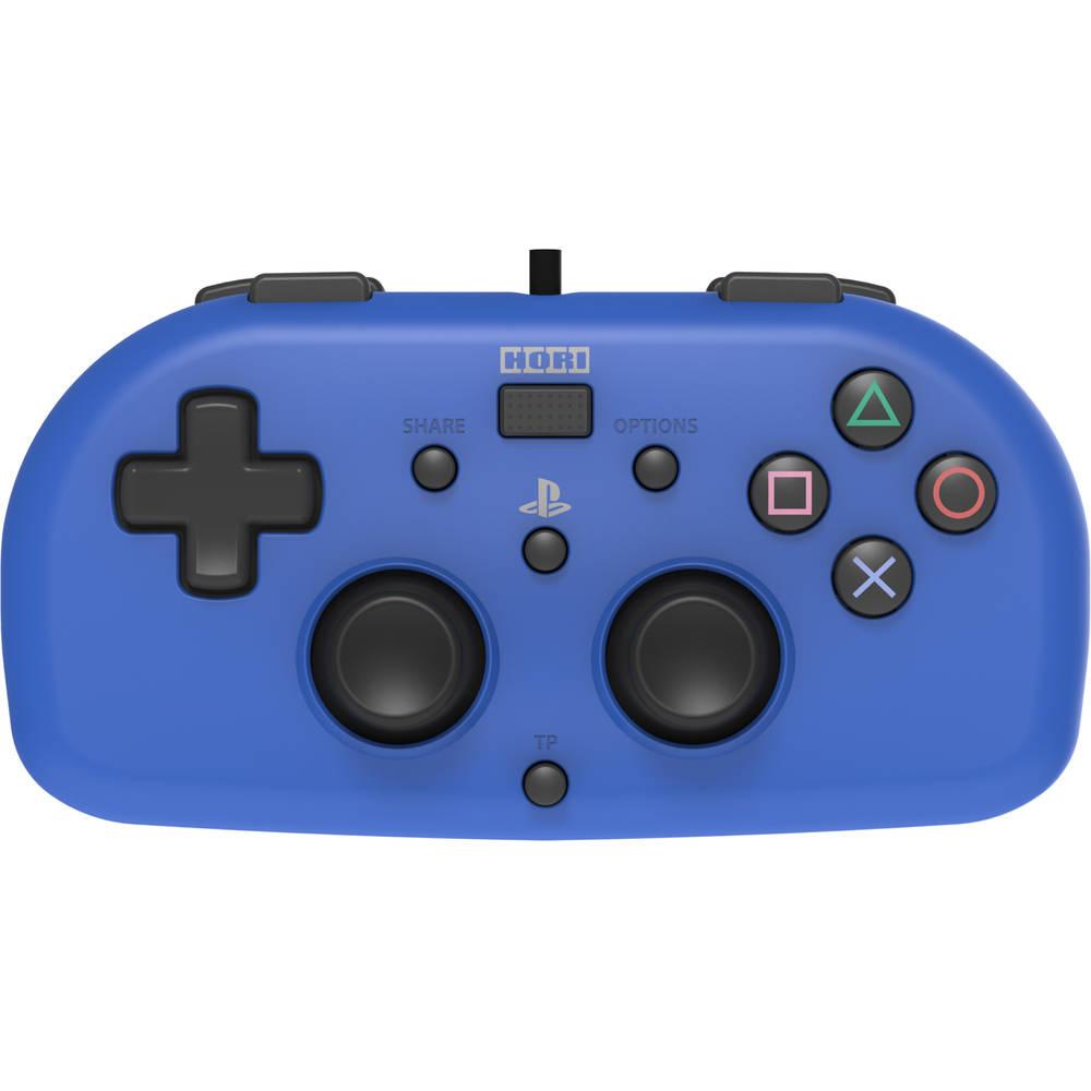 PS4 Hori bedrade mini gamepad - blauw