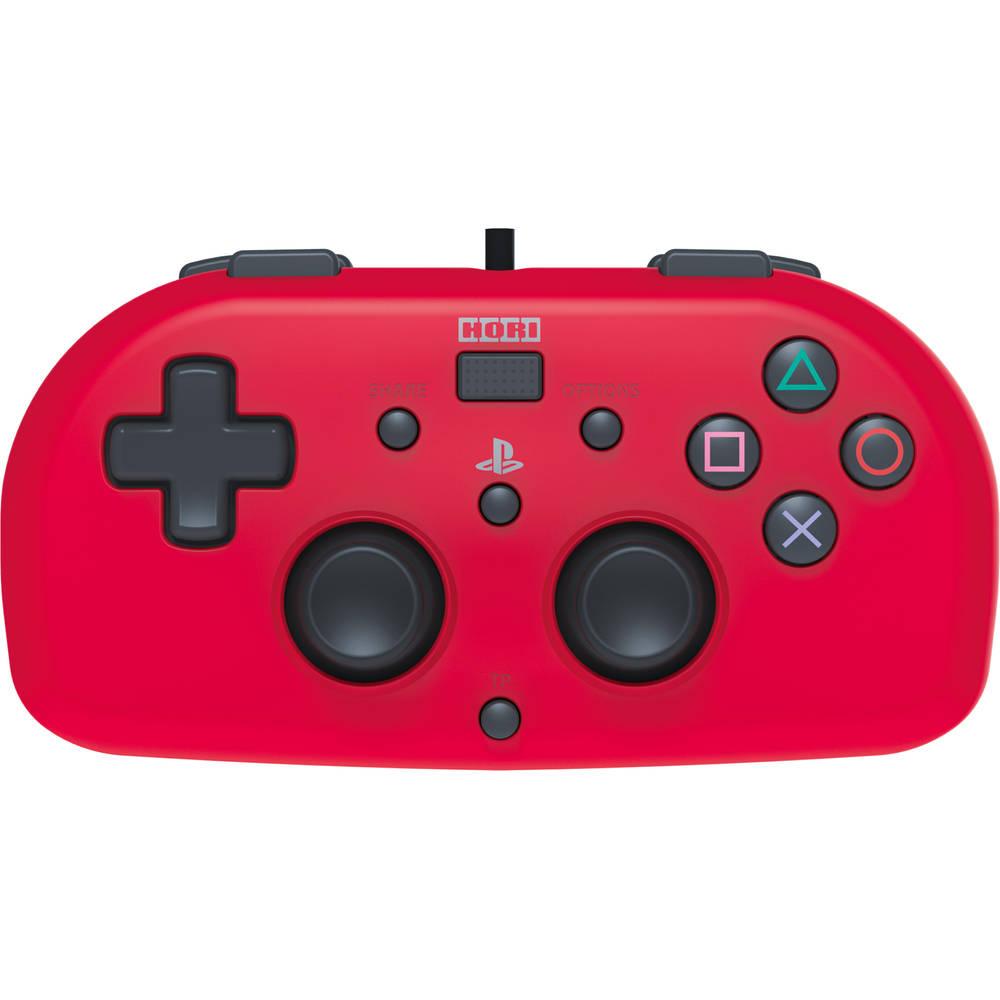 PS4 Hori bedrade mini gamepad - rood