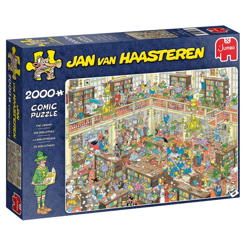 Jumbo Jan van Haasteren de bibliotheek - 2000 stukjes
