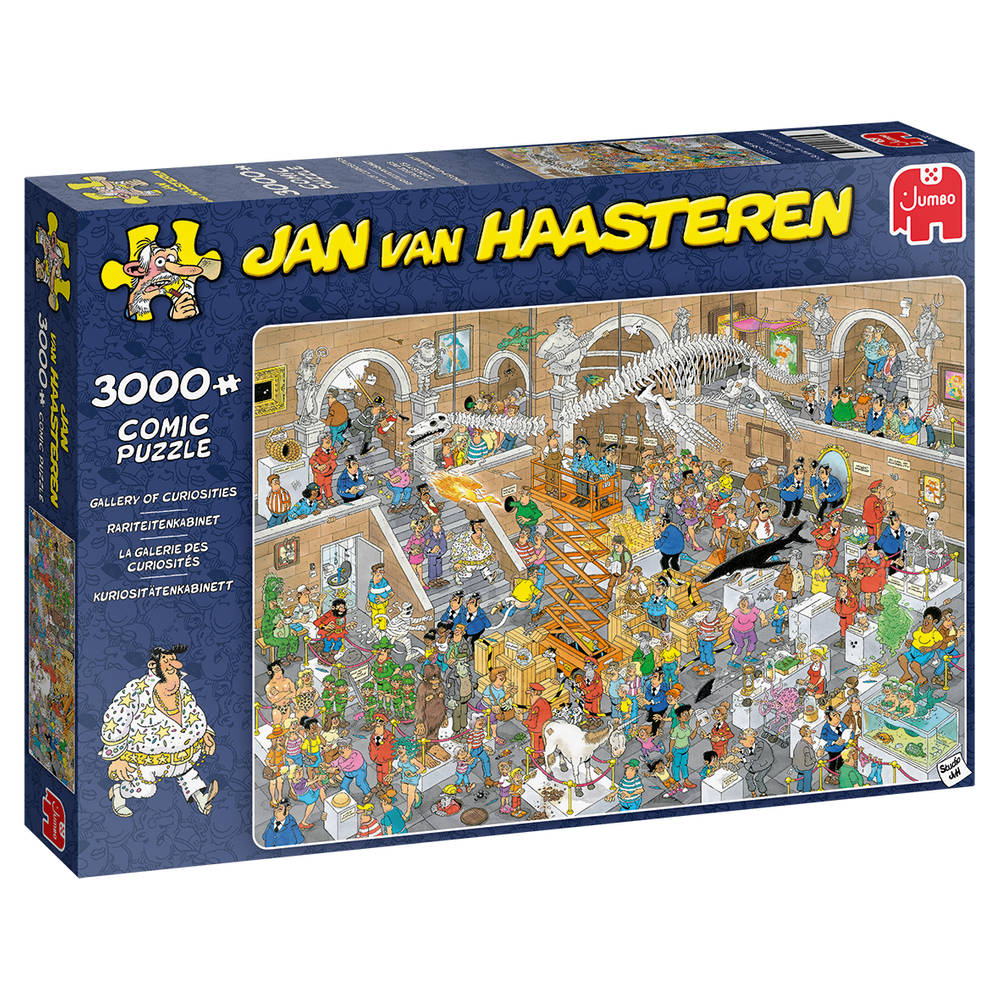 Jumbo Jan van Haasteren rariteitenkabinet - 3000 stukjes