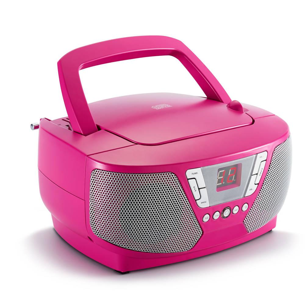Bigben draagbare CD-speler - roze