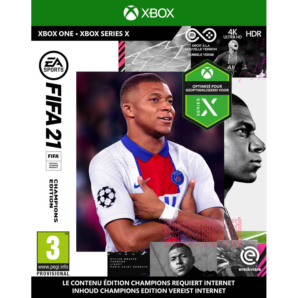 Xbox Series X & Xbox One FIFA 21 Champions Edition