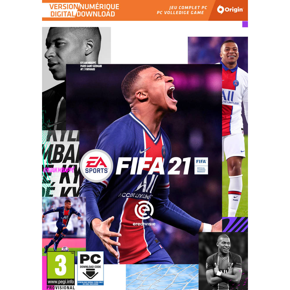 PC FIFA 21 - code in a box