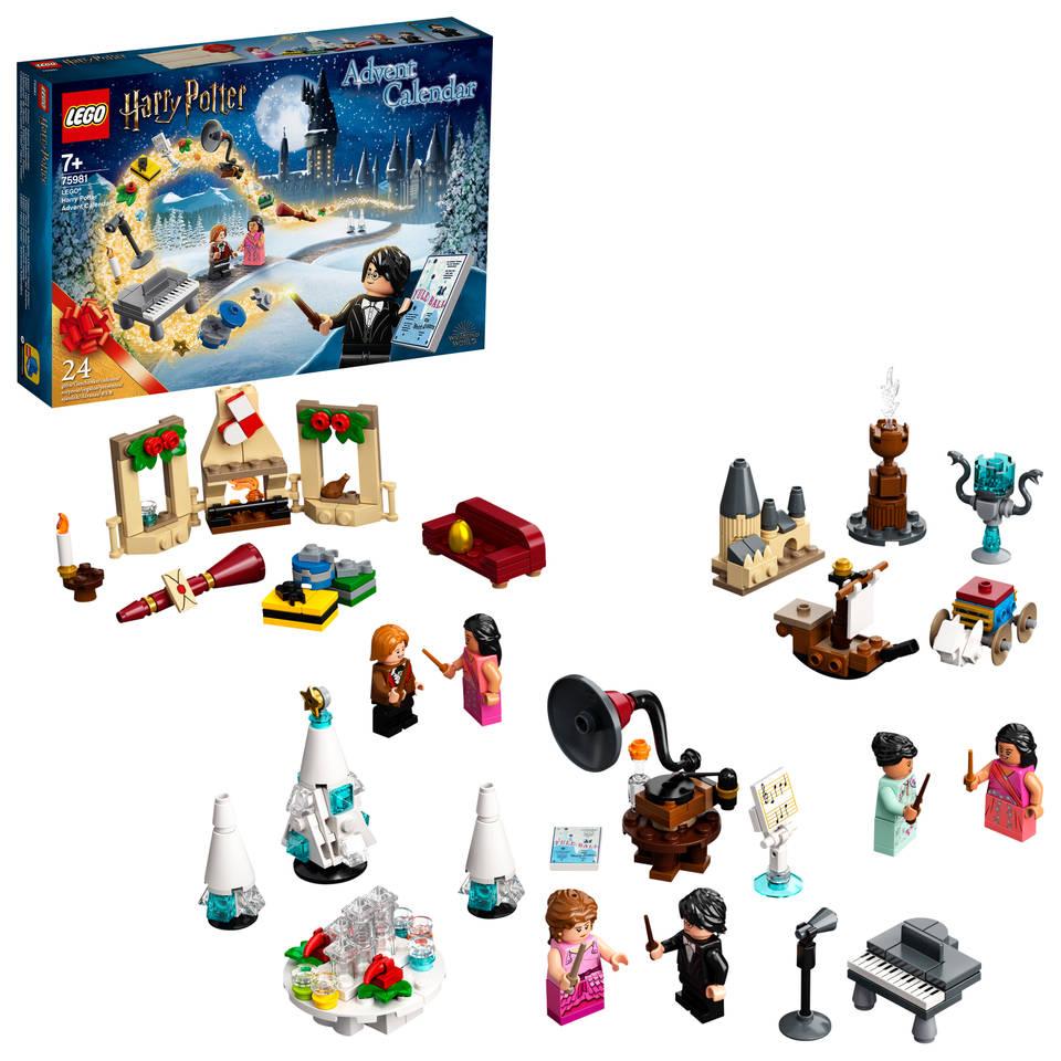 LEGO Harry Potter adventkalender 75981