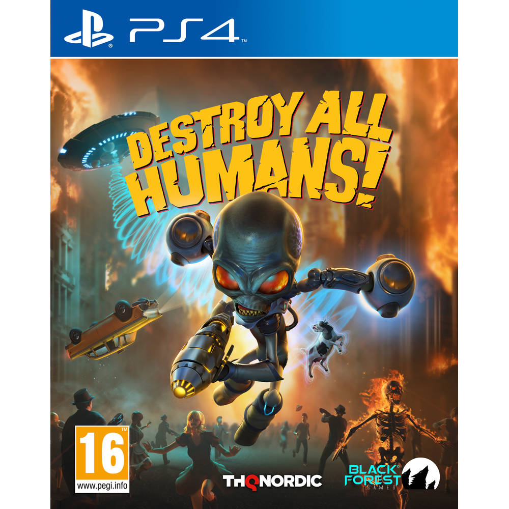 PS4 Destroy All Humans
