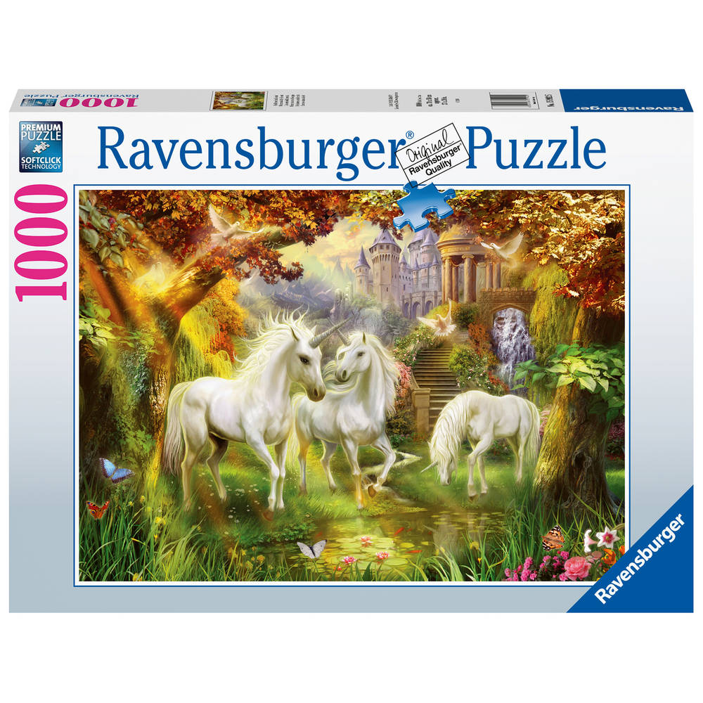 Ravensburger puzzel eenhoorns in de herfst - 1000 stukjes