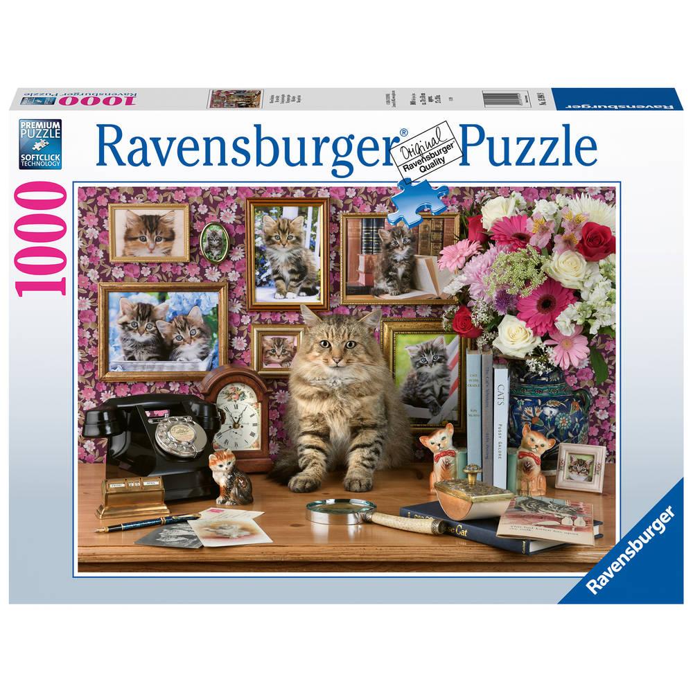 Ravensburger puzzel mijn katjes - 1000 stukjes