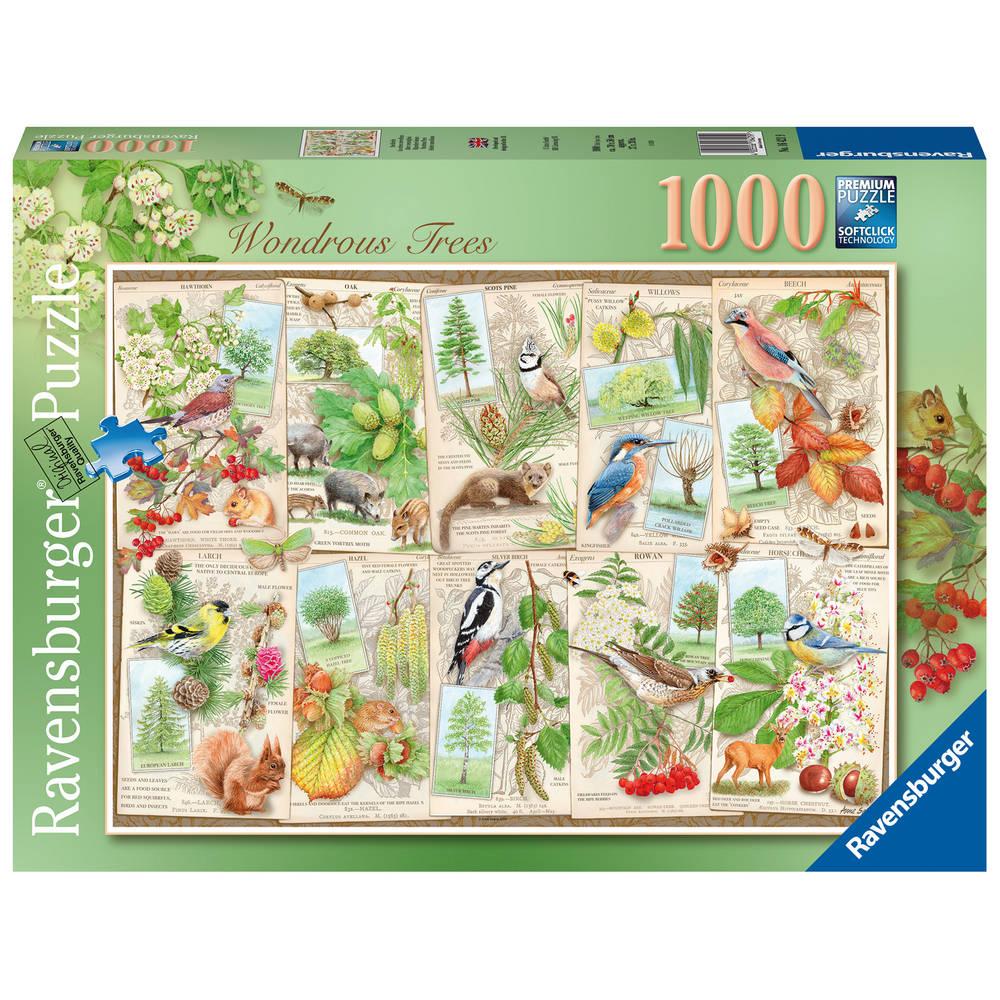 Ravensburger puzzel bijzondere bomen - 1000 stukjes