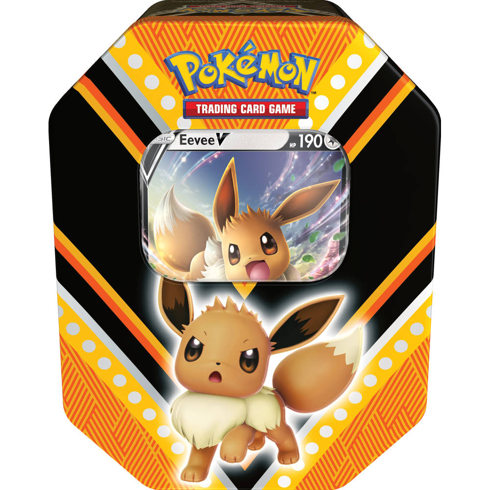 Pokémon TCG tin Eevee