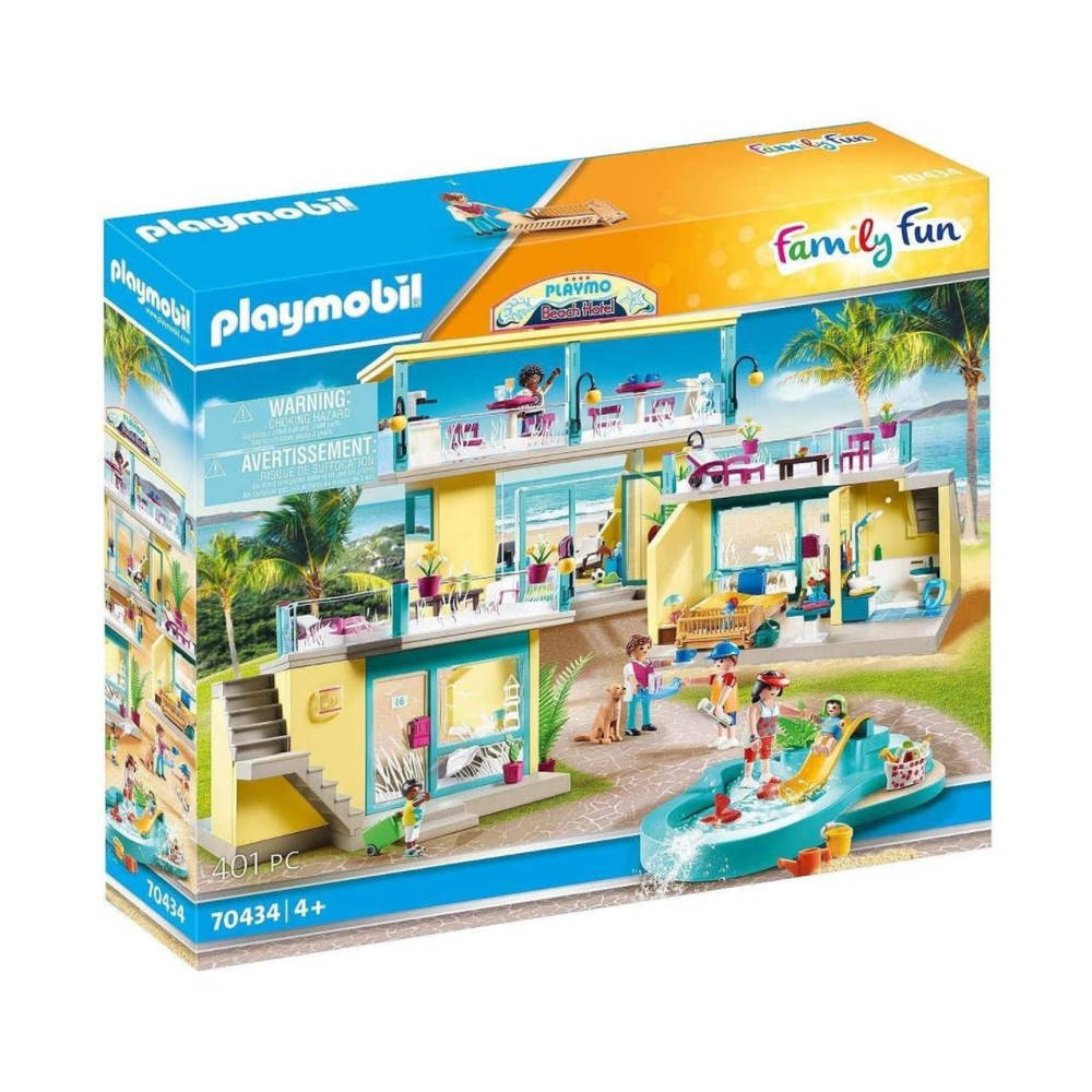 PLAYMOBIL Family Fun strandhotel 70434