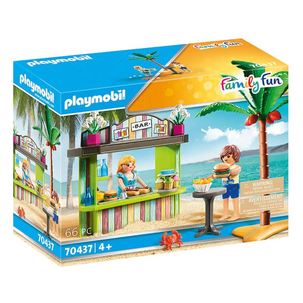 PLAYMOBIL Family Fun strandkiosk 70437