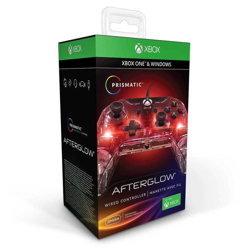 Xbox One Afterglow Prismatic bedrade controller