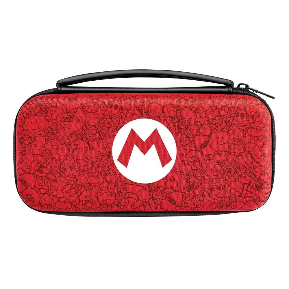 Nintendo Switch Mario Remix deluxe travel beschermhoes