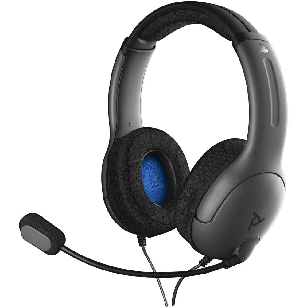 PS4 PDP Gaming LVL40 bedrade gaming headset - grijs