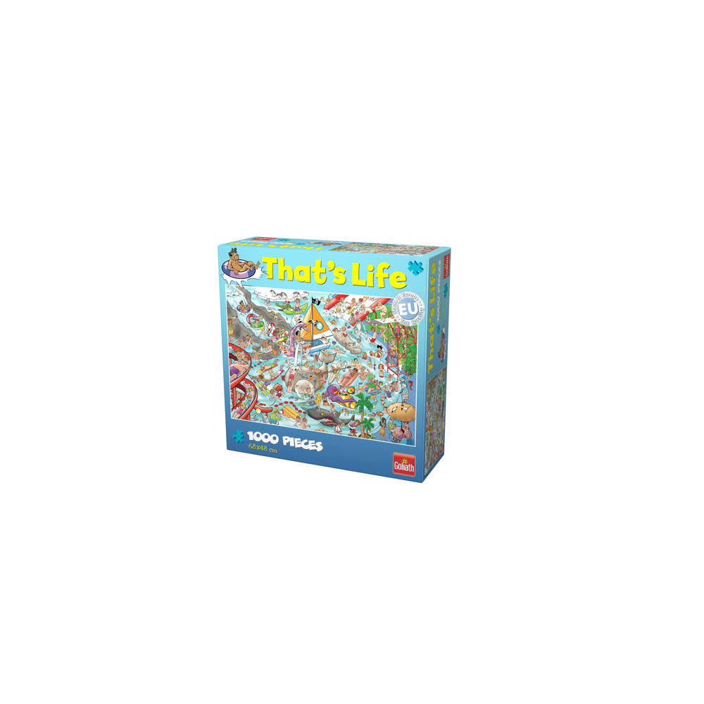 That's Life puzzel Water World - 1000 stukjes