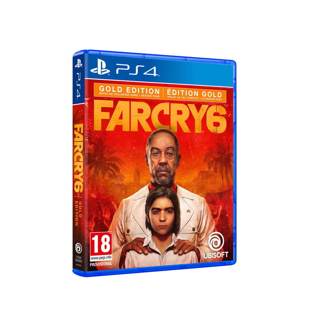 PS4 Far Cry 6 Gold Edition