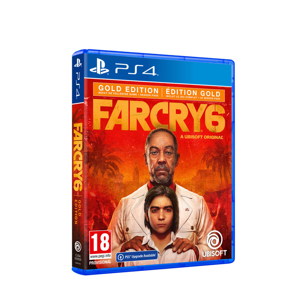 PS4 & PS5 Far Cry 6 Gold Edition