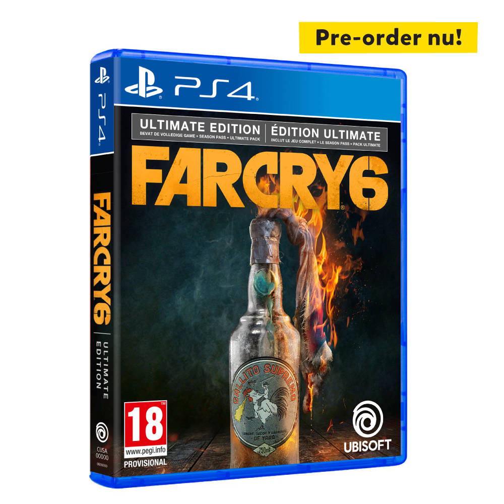 PS4 Far Cry 6 Ultimate Edition