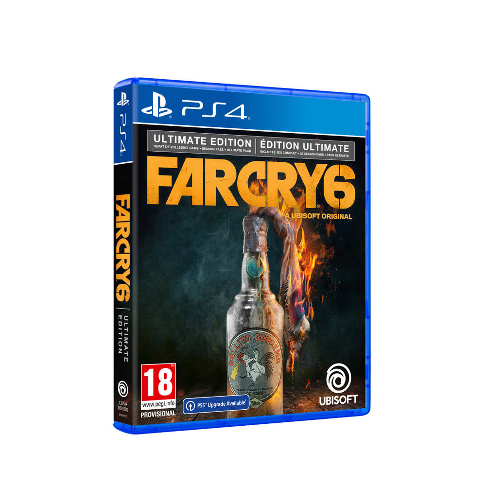 PS4 & PS5 Far Cry 6 Ultimate Edition