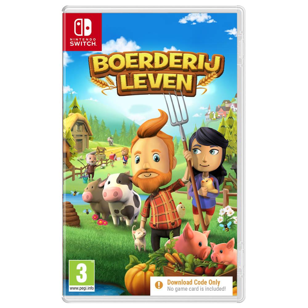 Nintendo Switch Boerderijleven - code in a box