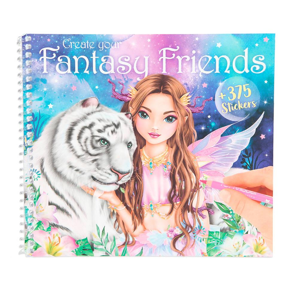 Create your Fantasy Friend kleurboek