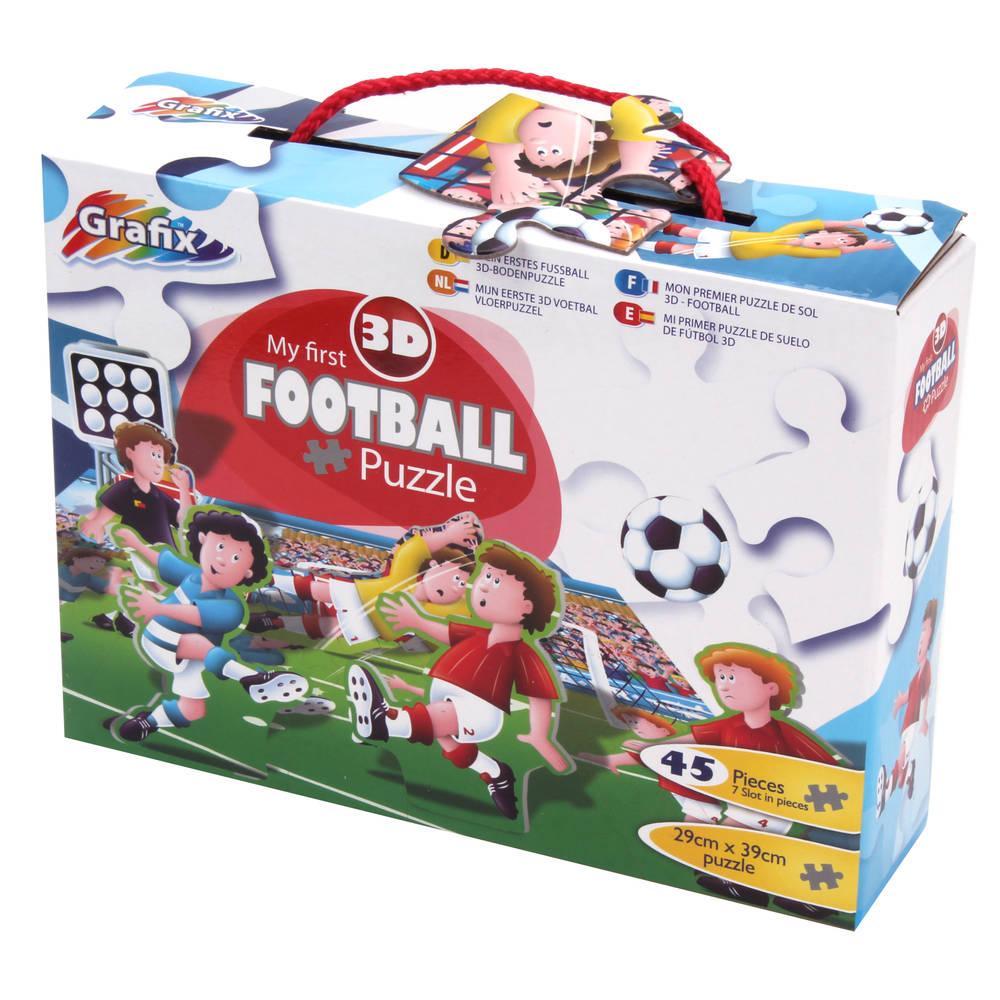 Grafix 3D puzzel voetbal - 45 stukjes