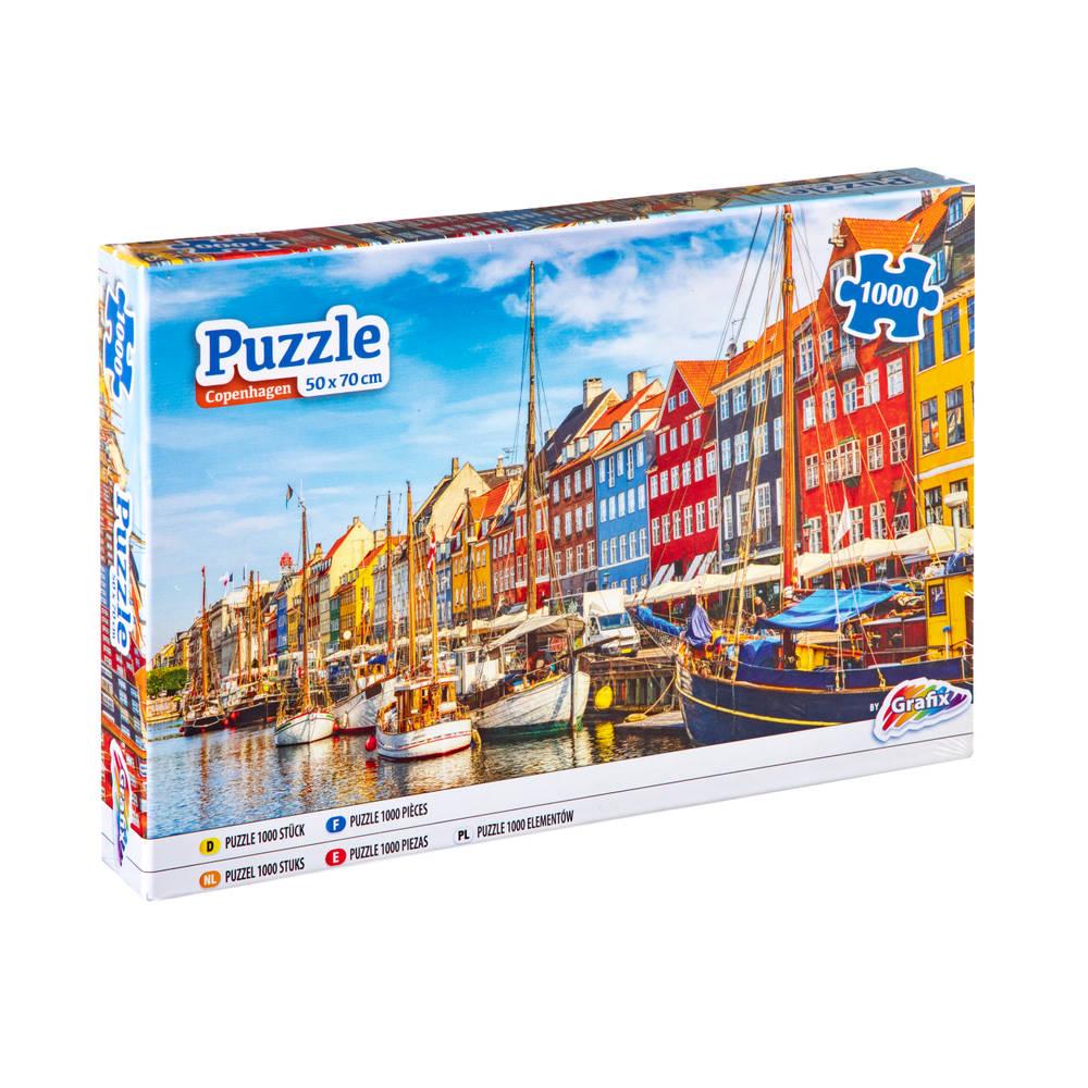 Grafix puzzel Kopenhagen - 1000 stukjes