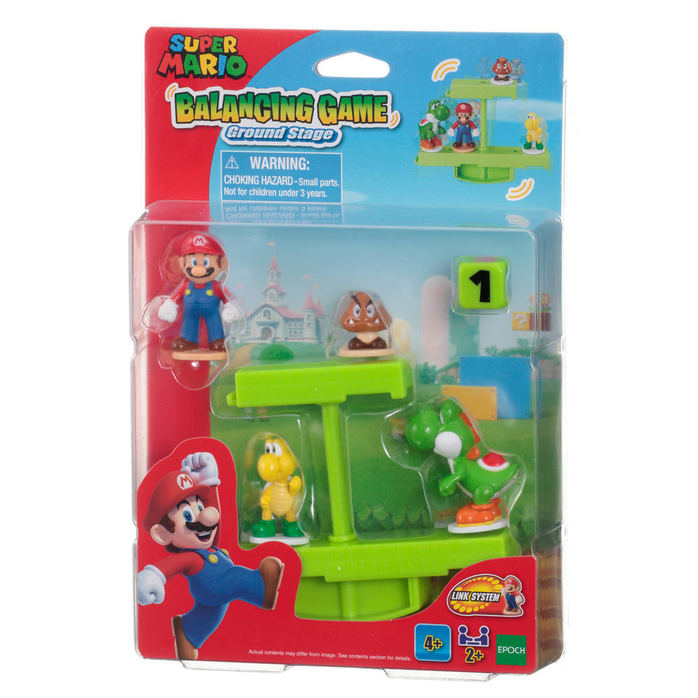 Super Mario Balancing Game Ground Stage Mario en Yoshi