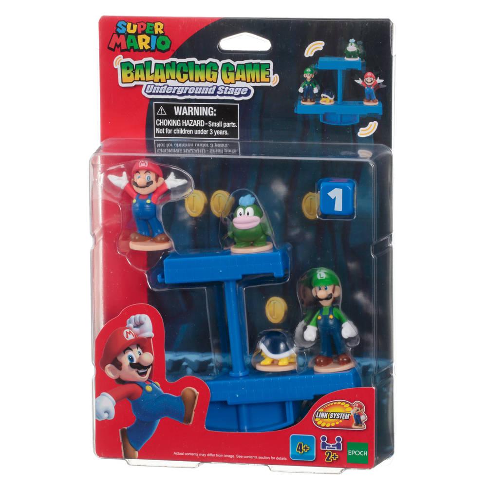 Super Mario Balancing Game Underground Stage Mario en Luigi