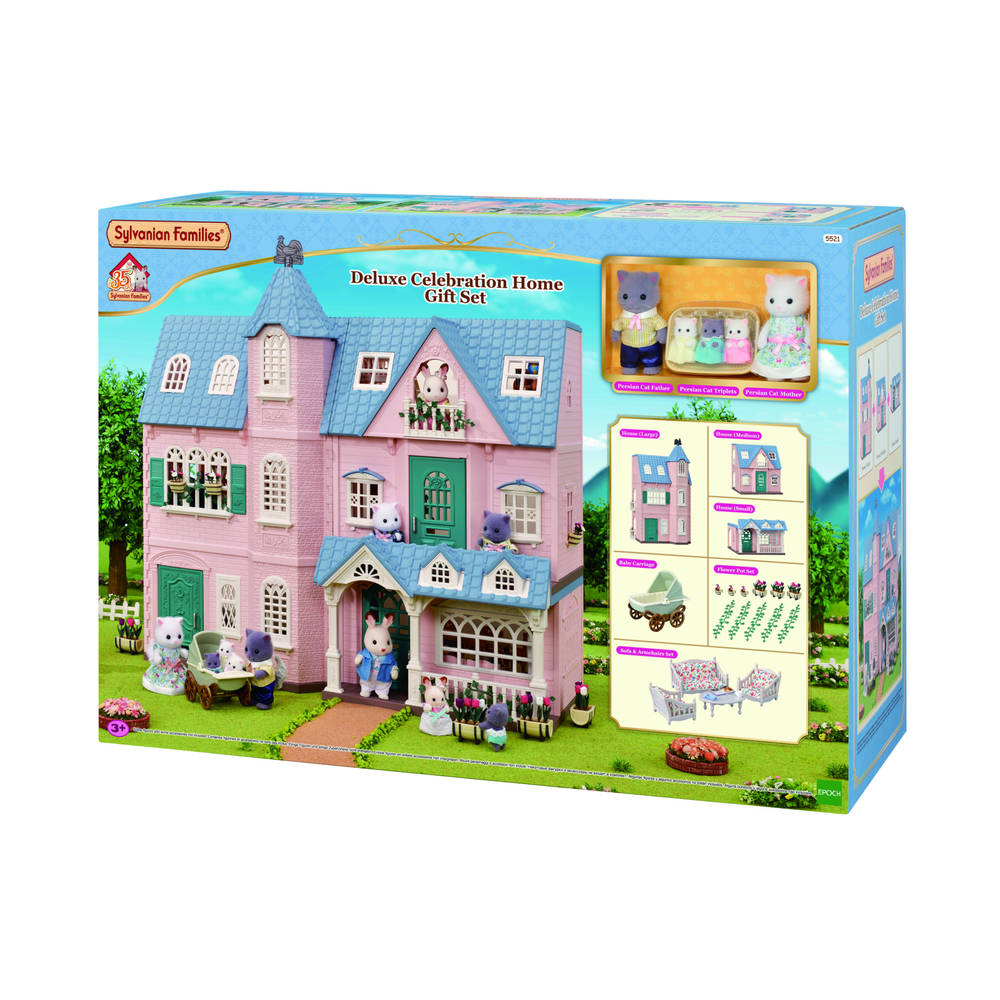 Sylvanian Families Deluxe Celebration Home Gift speelset 5521