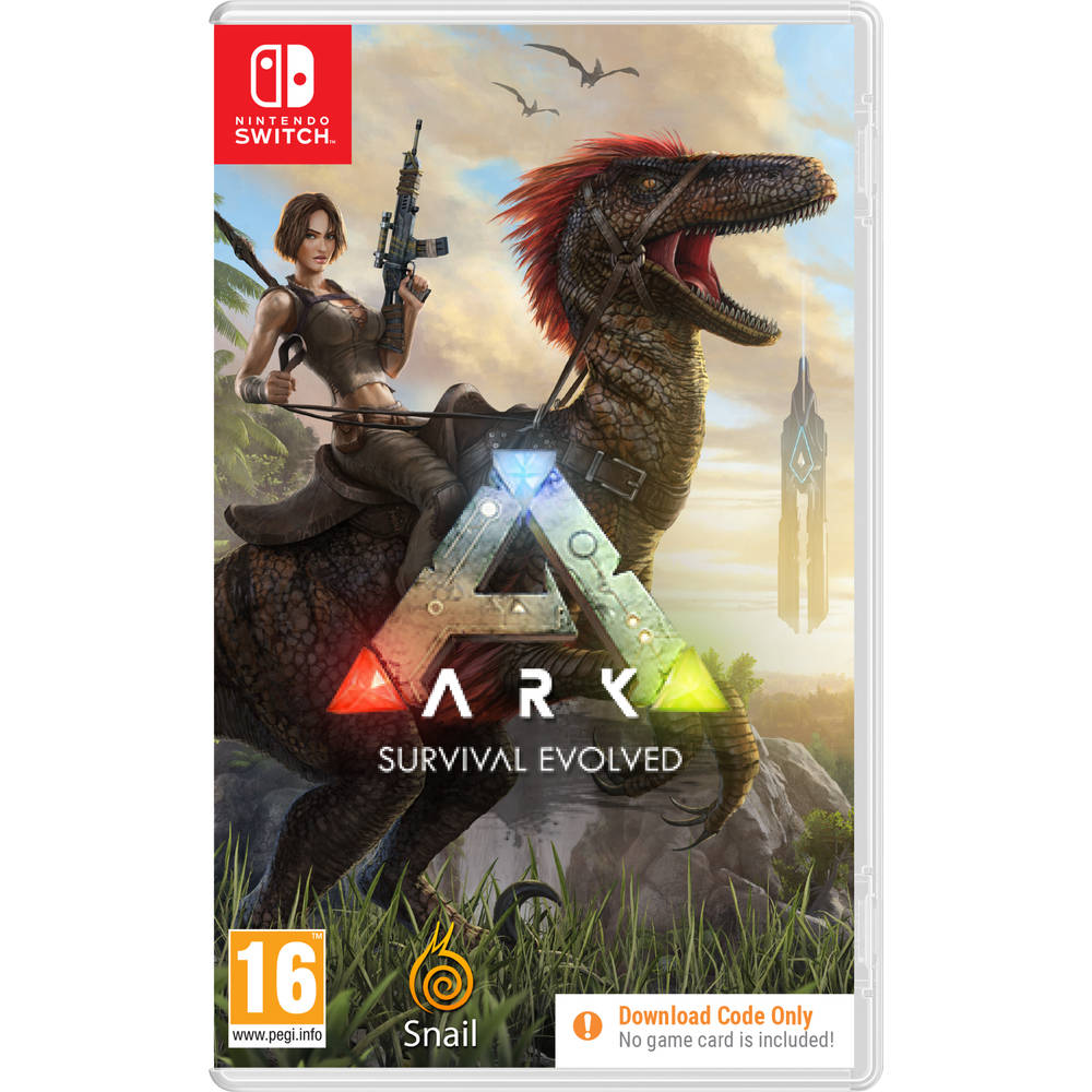 Nintendo Switch ARK: Survival Evolved - code in a box