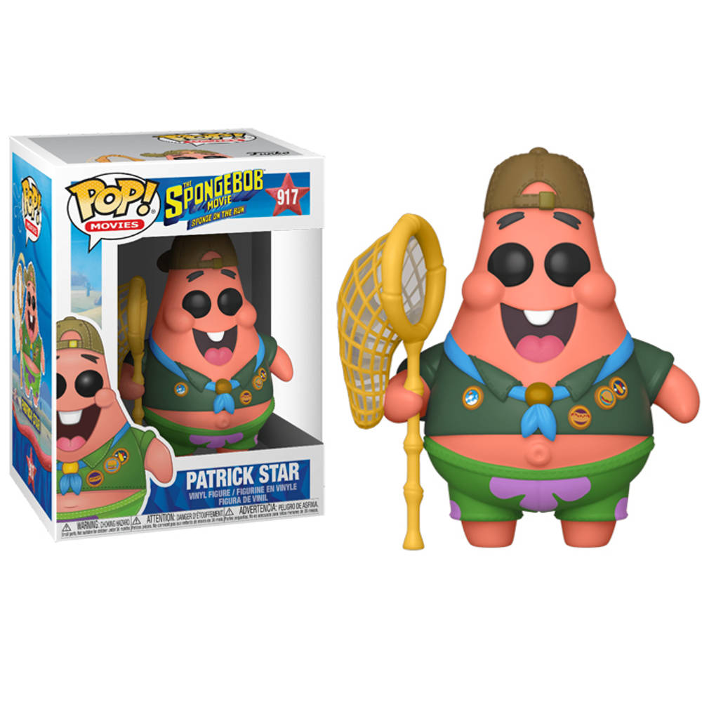 Funko Pop! figuur The SpongeBob Movie Patrick in camping outfit