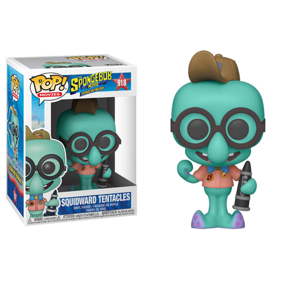 Funko Pop! figuur The SpongeBob Movie Octo in camping outfit