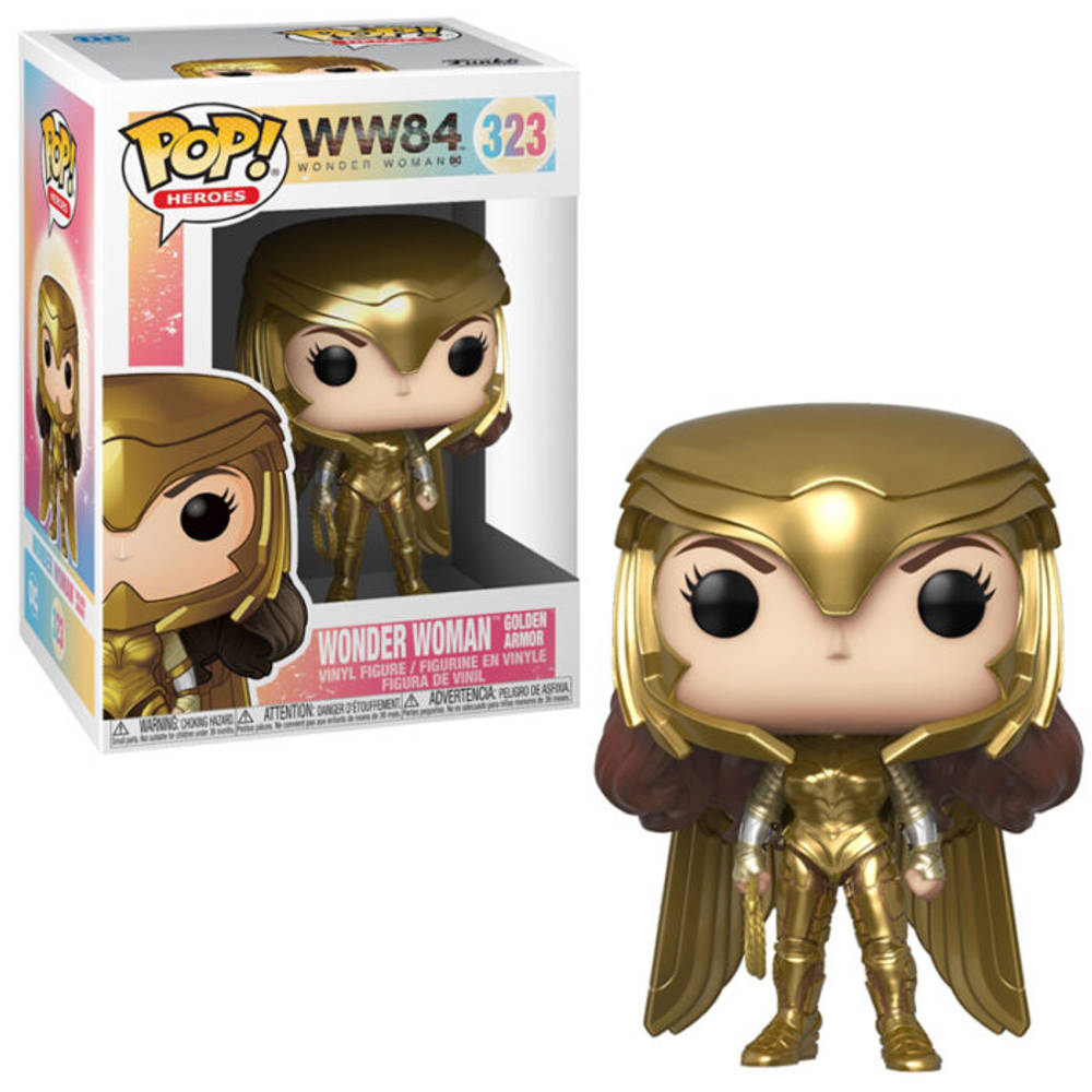 Funko Pop! figuur Wonder Woman 1984 Wonder Woman Golden Armor