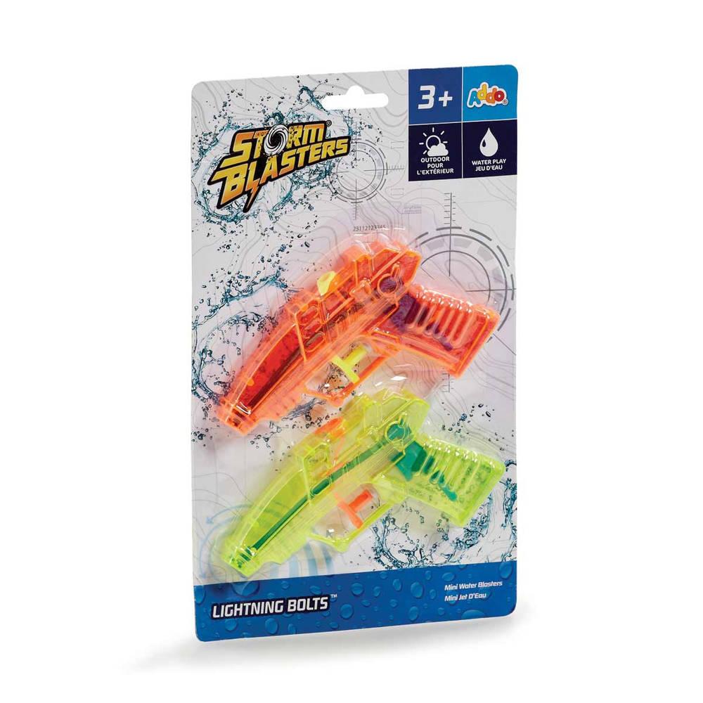 Waterpistool op kaart set 2-delig