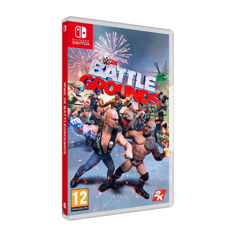 Nintendo Switch WWE 2K Battlegrounds