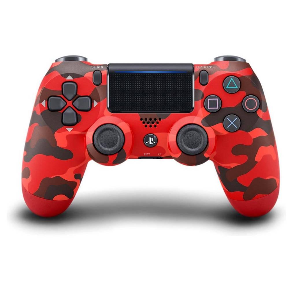 PS4 DualShock 4 controller V2 - rood camouflage