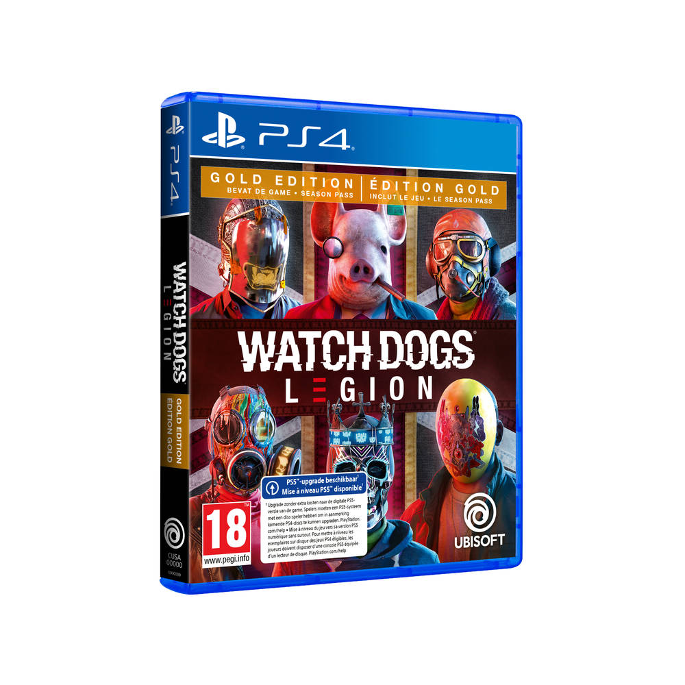 PS4 & PS5 Watch Dogs Legion Gold Edition