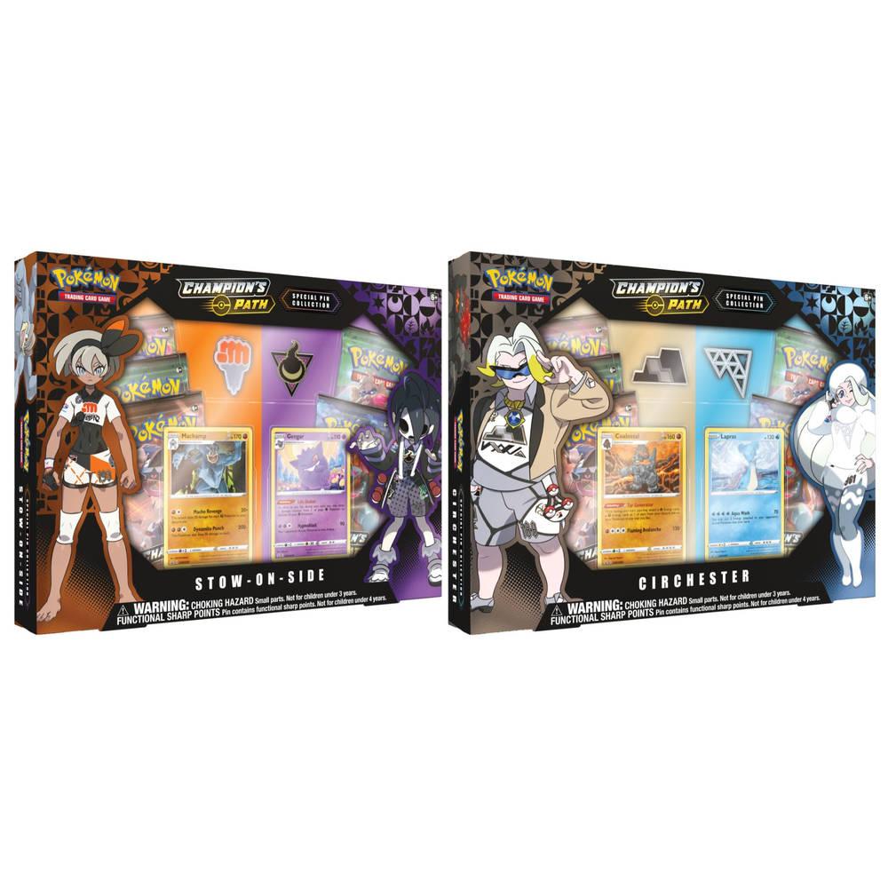 Pokémon TCG Champion's Path Pin Collection