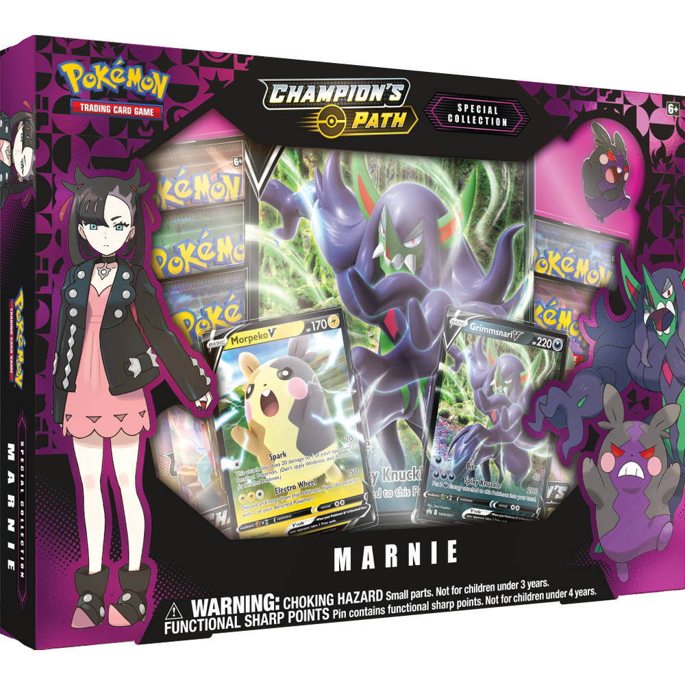 Pokémon TCG Champion's Path Special Collection Marnie