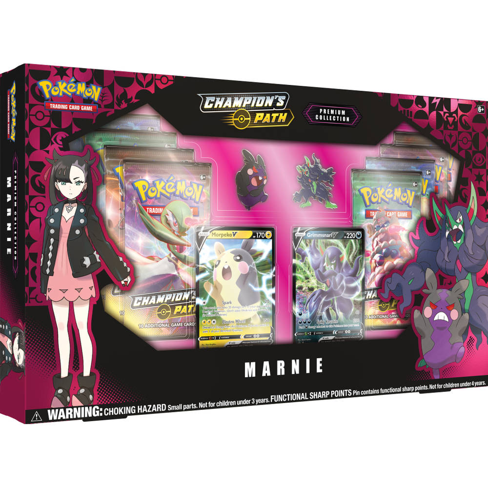 Pokémon TCG Champion's Premium Collection Marnie