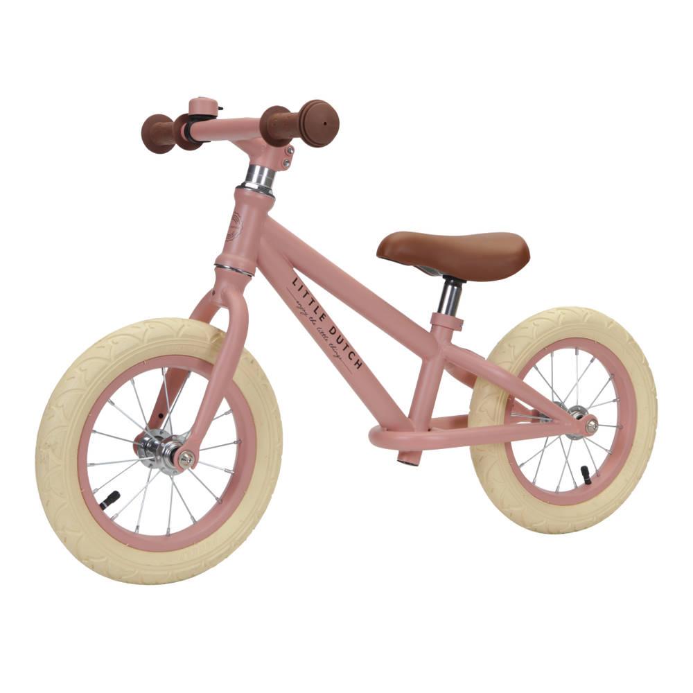 Little Dutch loopfiets - 12 inch - roze
