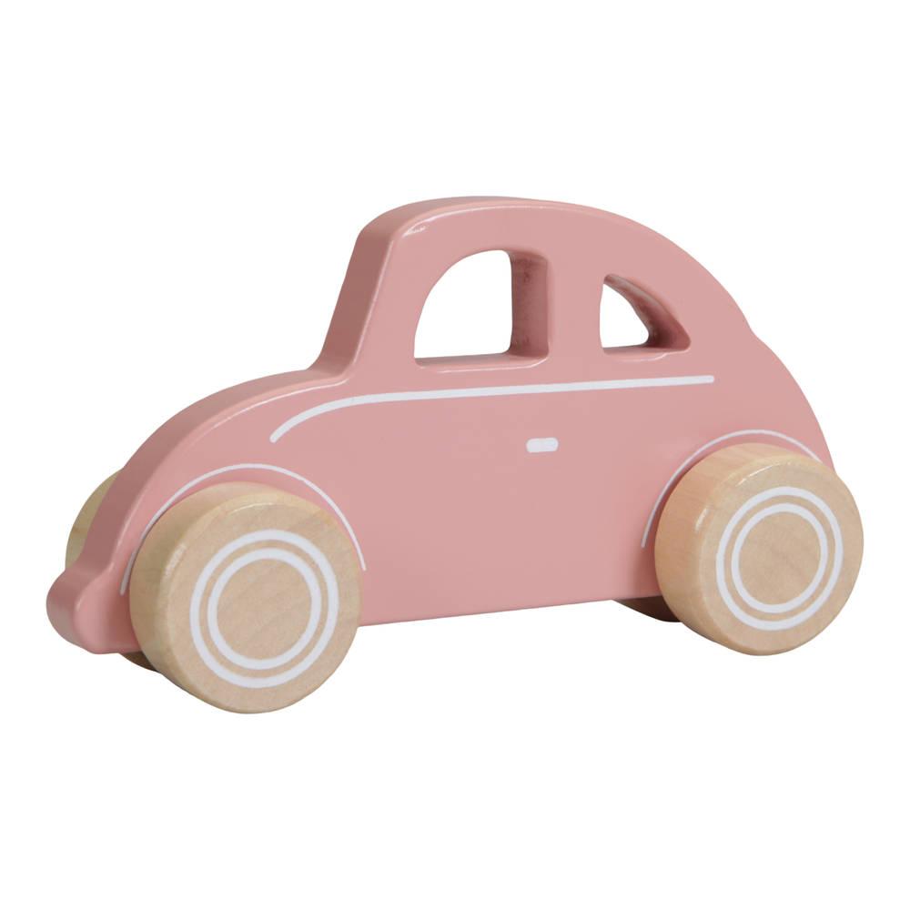 Little Dutch houten auto - roze