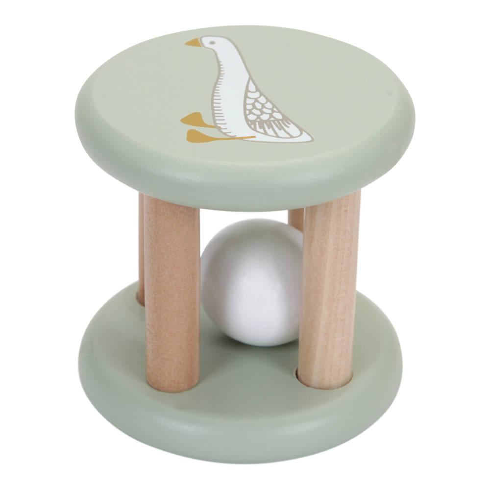 Little Dutch houten rammelaar roller Little Goose