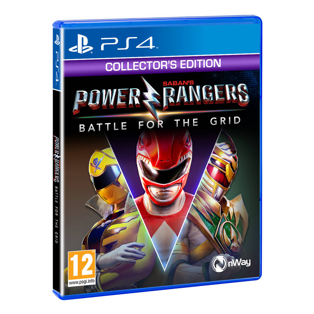 PS4 Power Rangers: Battle for the Grid