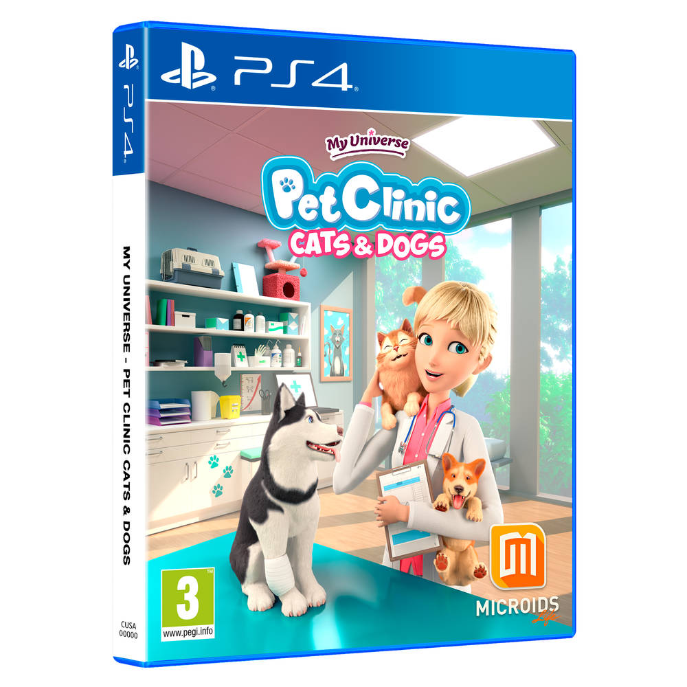 PS4 My Universe: Pet Clinic Cats & Dogs