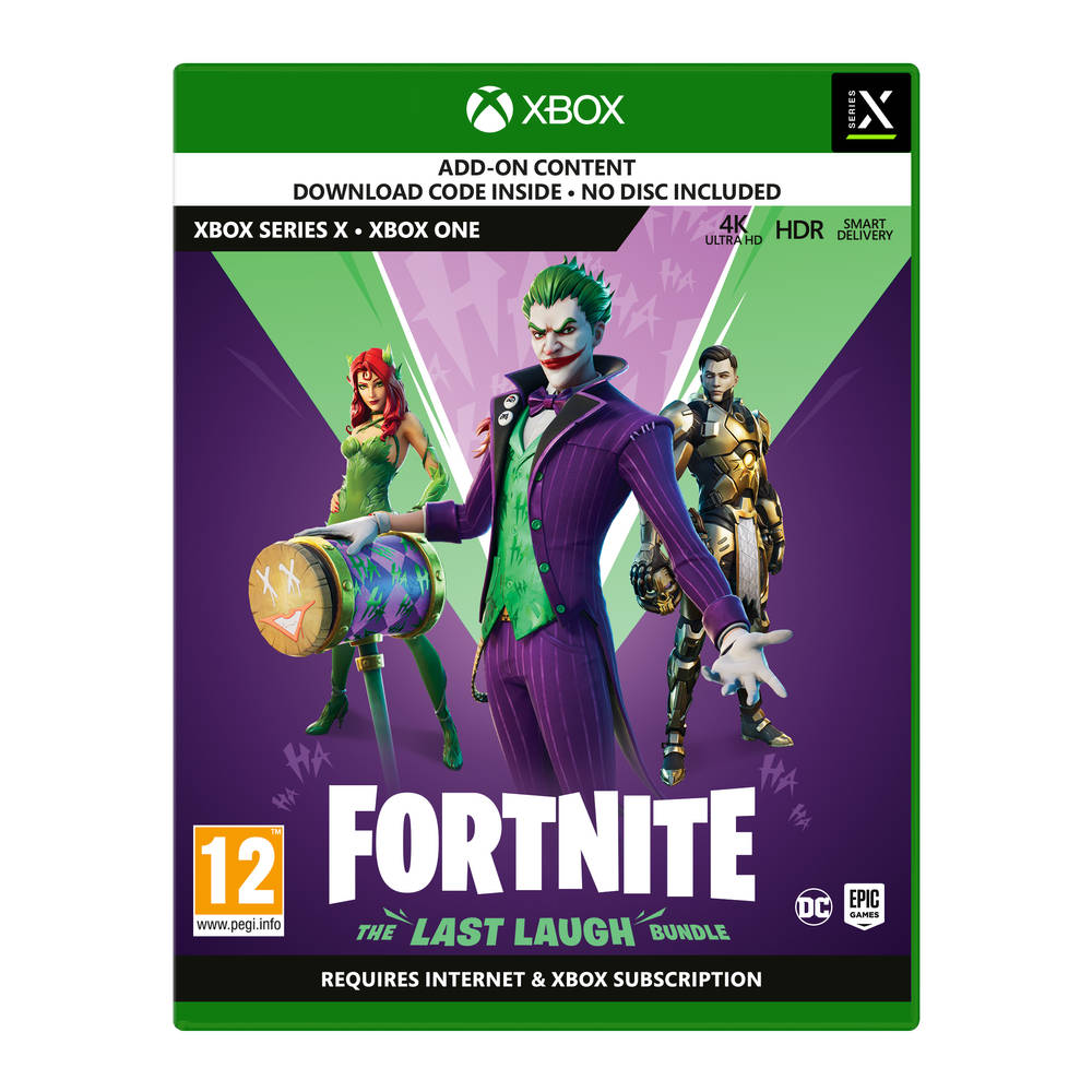 Xbox Series X & Xbox One Fortnite: The Last Laugh Bundle